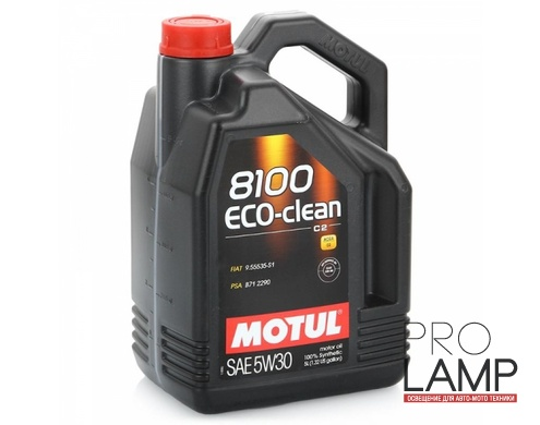 MOTUL 8100 Eco-Clean 5W-30 (C2) - 5 л.