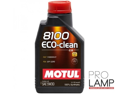 MOTUL 8100 Eco-clean 5W-30 (C2) - 1 л.