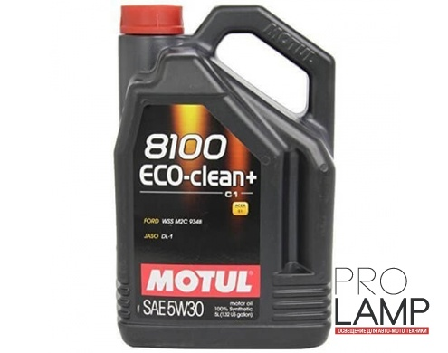 MOTUL 8100 Eco-Clean+ 5W-30 (C1) - 5 л.