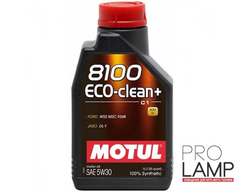 MOTUL 8100 Eco-Clean+ 5W-30 (C1) - 1 л.