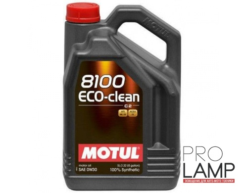 MOTUL 8100 Eco-clean 0W-30 - 5 л.