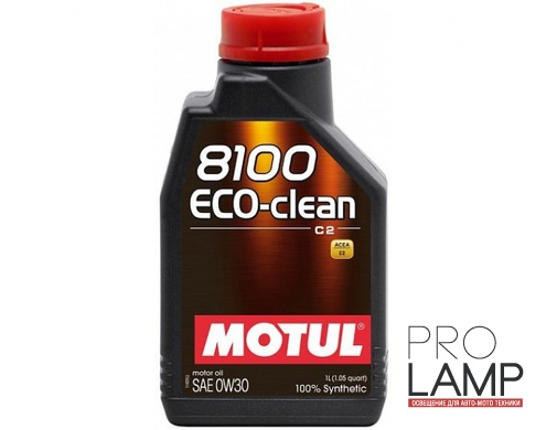 MOTUL 8100 Eco-clean 0W-30 - 1 л.