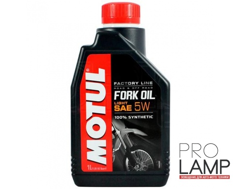 MOTUL Fork Oil light Factory Line 5W - 1 л.