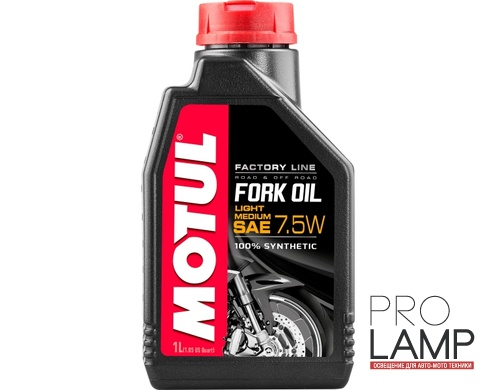 MOTUL Fork Oil light / medium Factory Line 7.5W - 1 л.