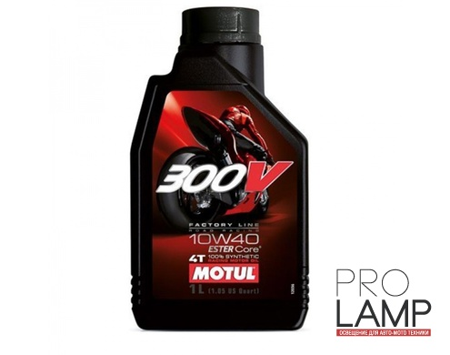 MOTUL 300V 4T FL Road Racing 10W-40 - 1 л.