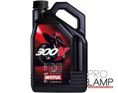 MOTUL 300V 4T FL Road Racing 5W-30 - 4 л.