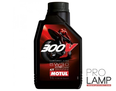 MOTUL 300V 4T FL Road Racing 5W-30 - 1 л.