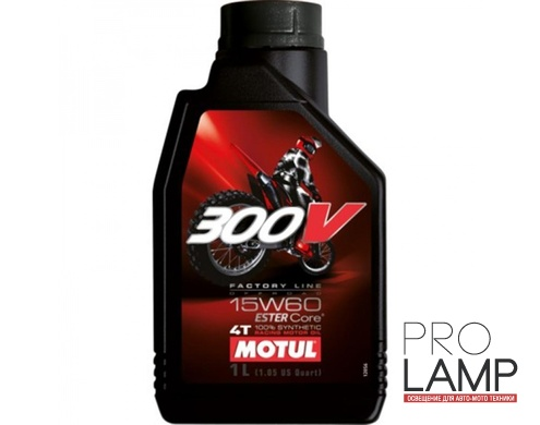 MOTUL 300V 4T OFF ROAD 15W-60 - 1 л.