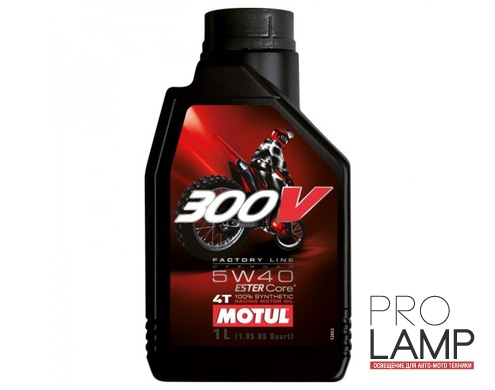 MOTUL 300V 4T FL Road Racing 5W-40 - 1 л.