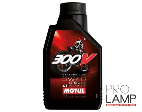 MOTUL 300V 4T OFF ROAD 5W-40 - 1 л.