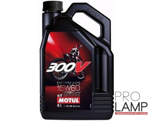 MOTUL 300V 4T OFF ROAD 15W-60 - 4 л.