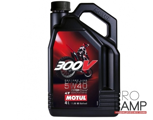 MOTUL 300V 4T OFF ROAD 5W-40 - 4 л.