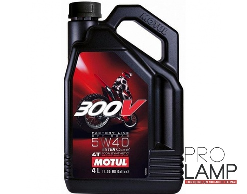 MOTUL 300V 4T FL Road Racing 5W-40 - 4 л.