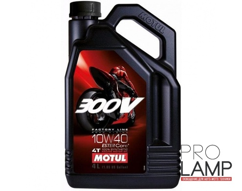 MOTUL 300V 4T FL Road Racing 10W-40 - 4 л.